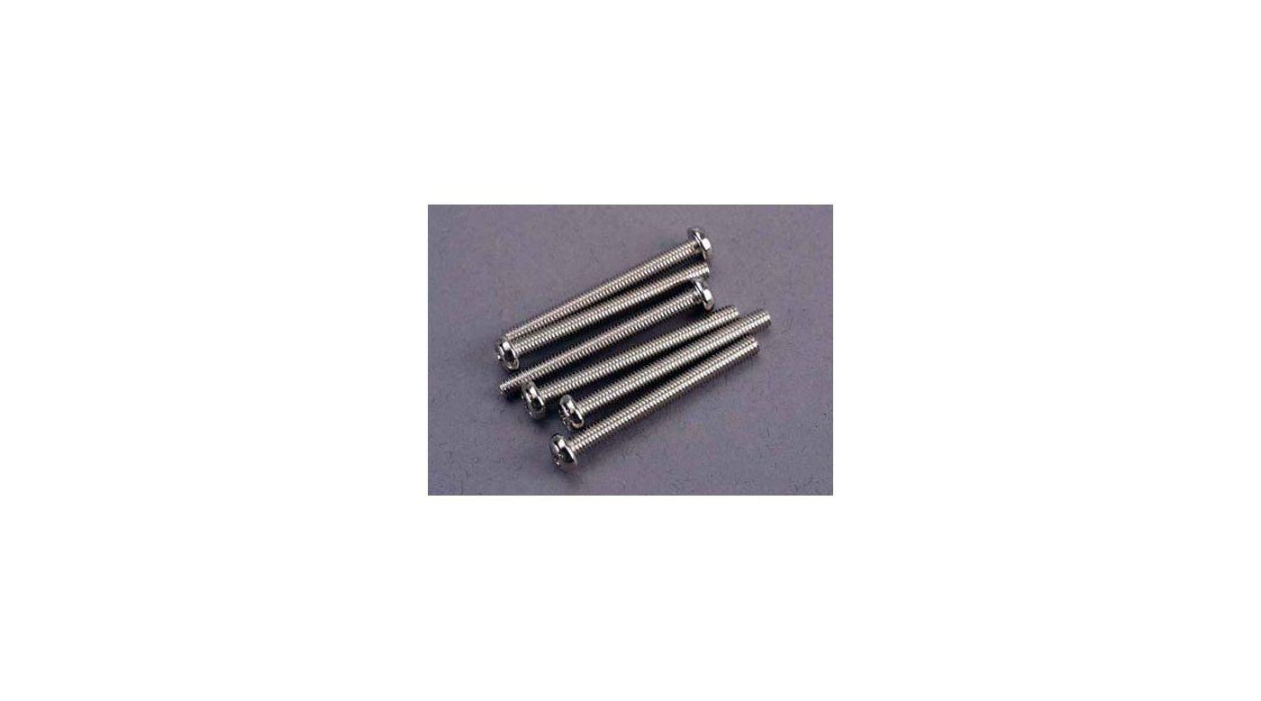 Image for Screws, 3x30mm Roundhead Machine(6) from HorizonHobby