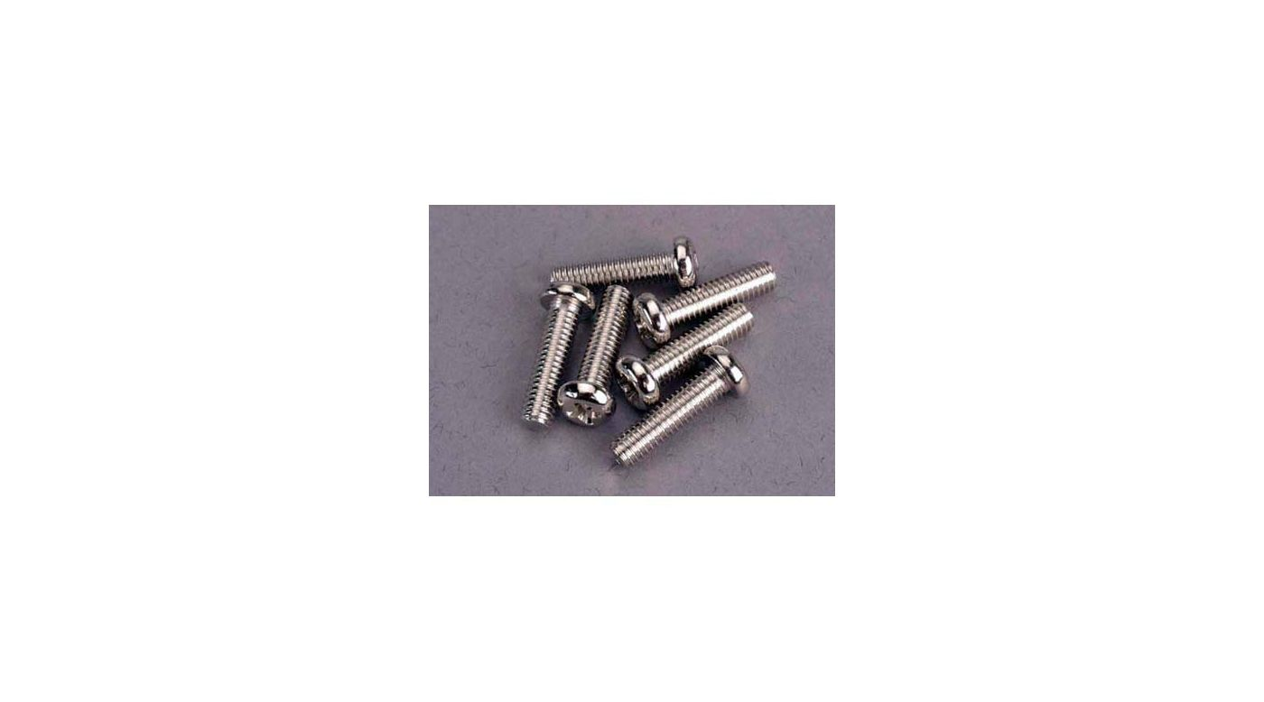 Image for Screws,4 x 15mm Roundhead Machine(6 from HorizonHobby