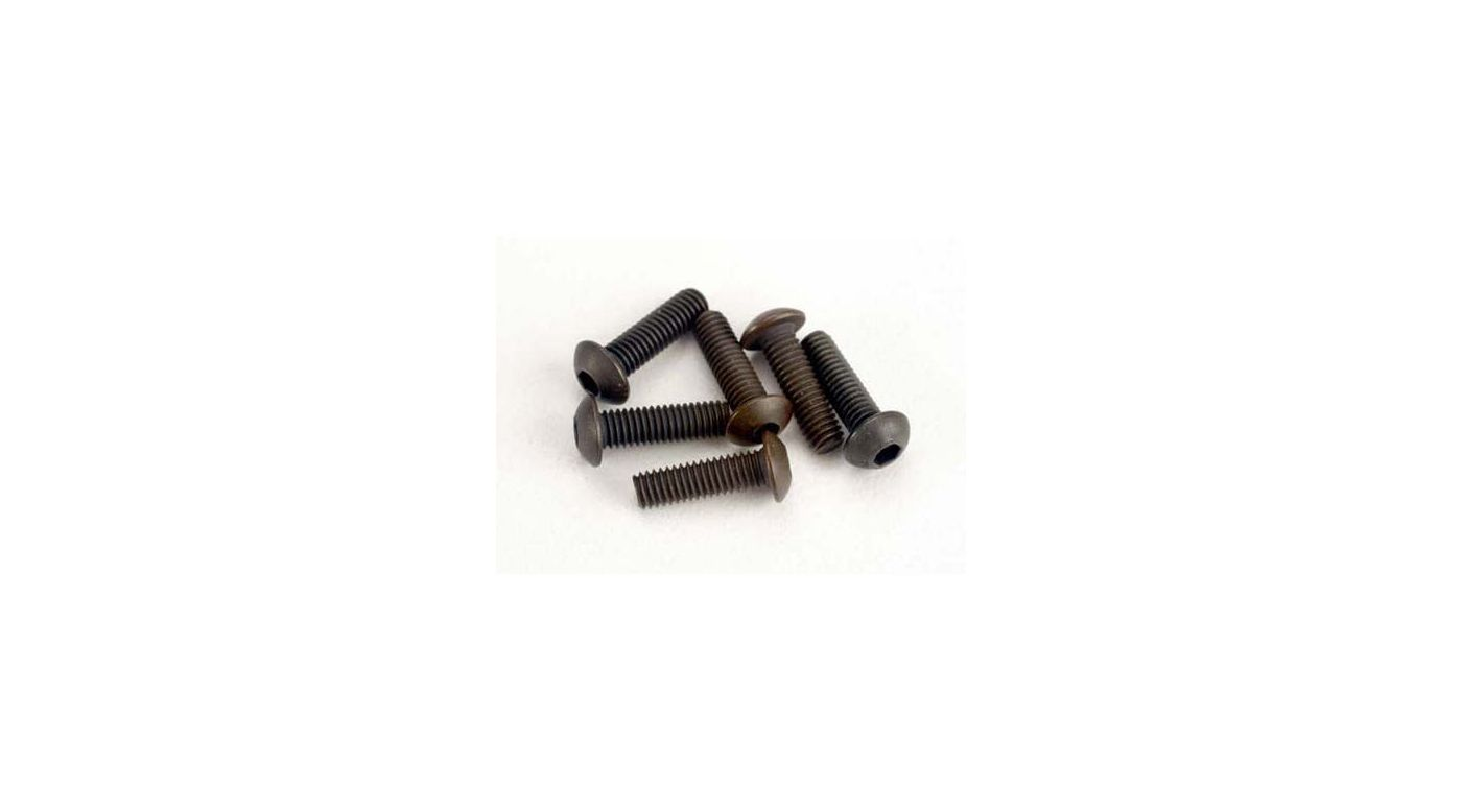 Image for Screws, 3 x 10mm Buttonhead (6):SLY from HorizonHobby