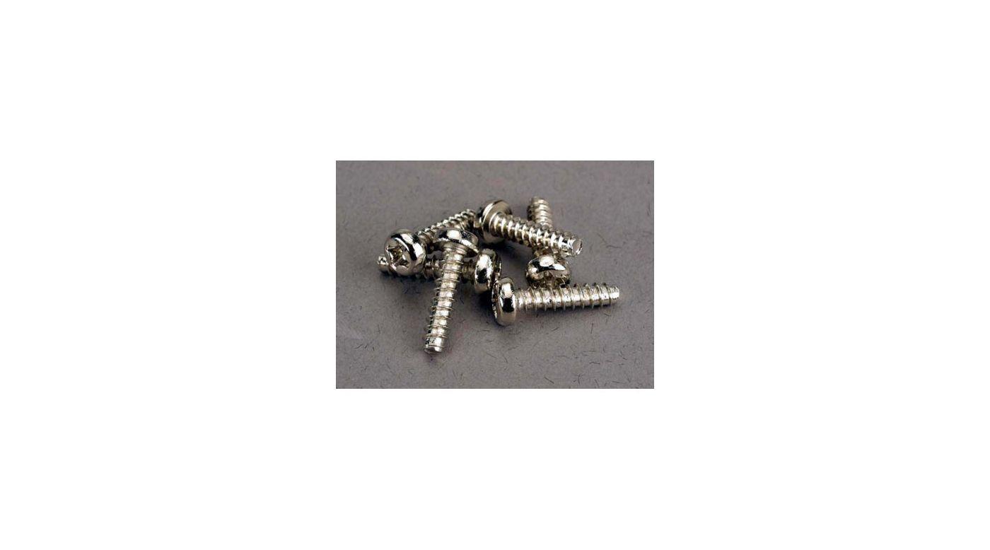Image for Screws 3x12 Roundhead (6) from HorizonHobby