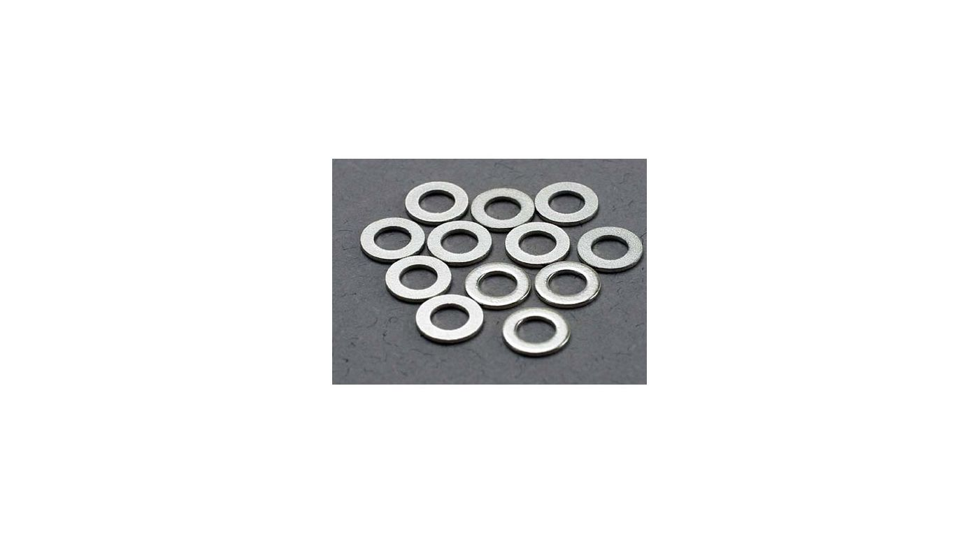 Image for Washers 3x6mm, Metal (12) from HorizonHobby