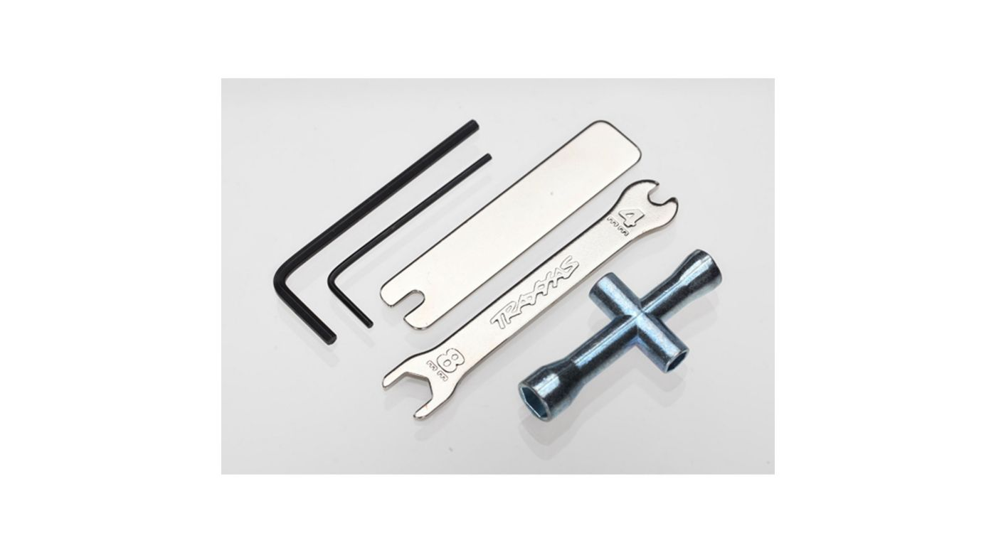 Image for 4 Way Open-End & U-Joint Wrenches from HorizonHobby