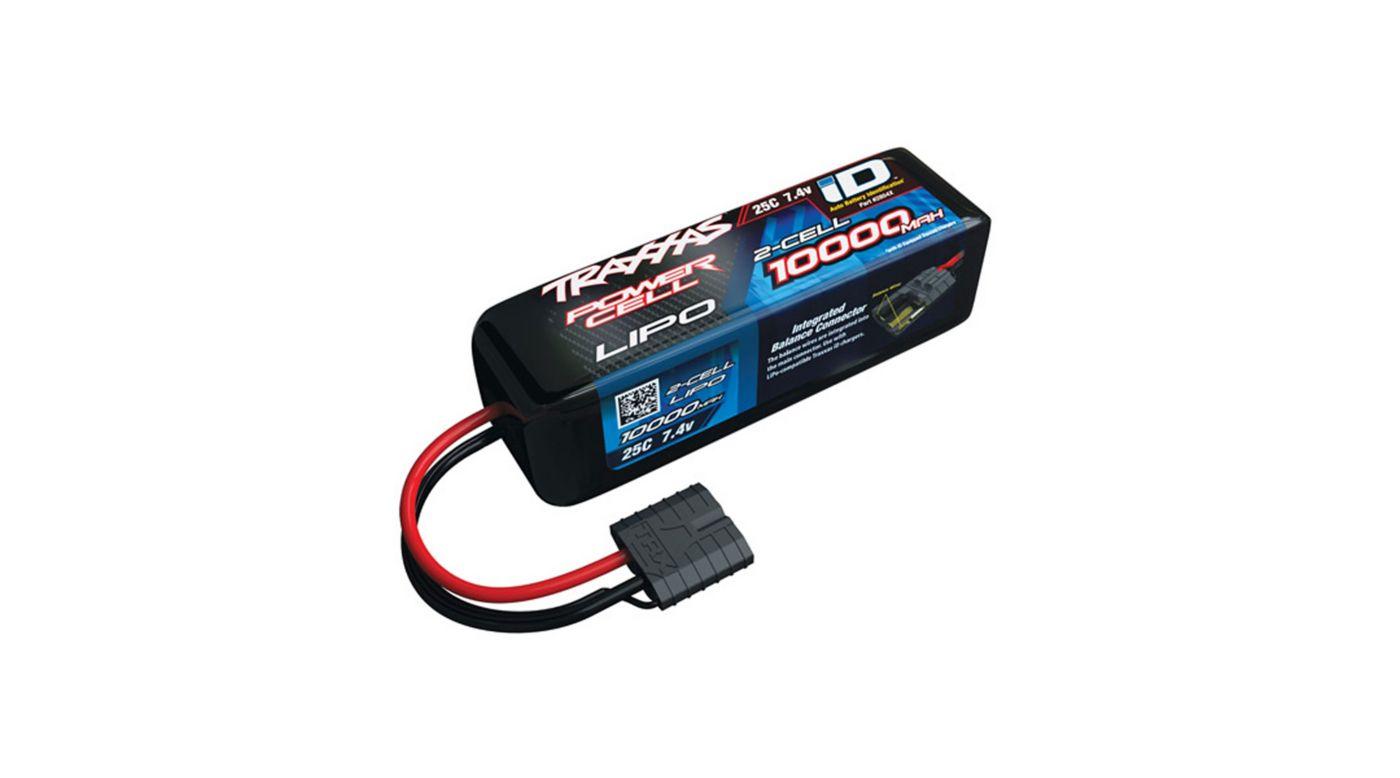 Image for 7.4V 10000mAh 25C 2S LiPo Battery with TRA ID from HorizonHobby