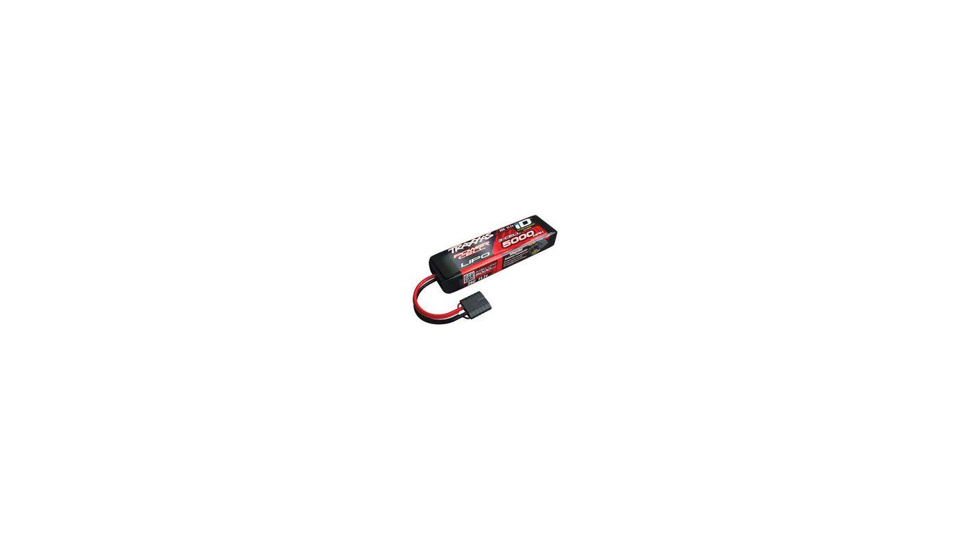 Image for 11.1V 5000mAh 25C 3S LiPo Battery with TRA ID from HorizonHobby