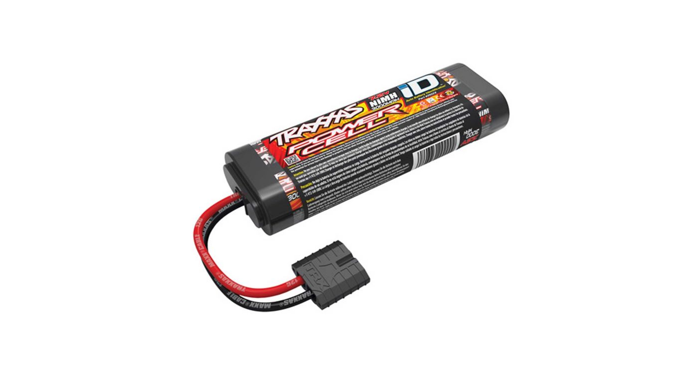 Image for 7.2V 3000mAh 6-Cell NiMH Battery with TRA ID from HorizonHobby
