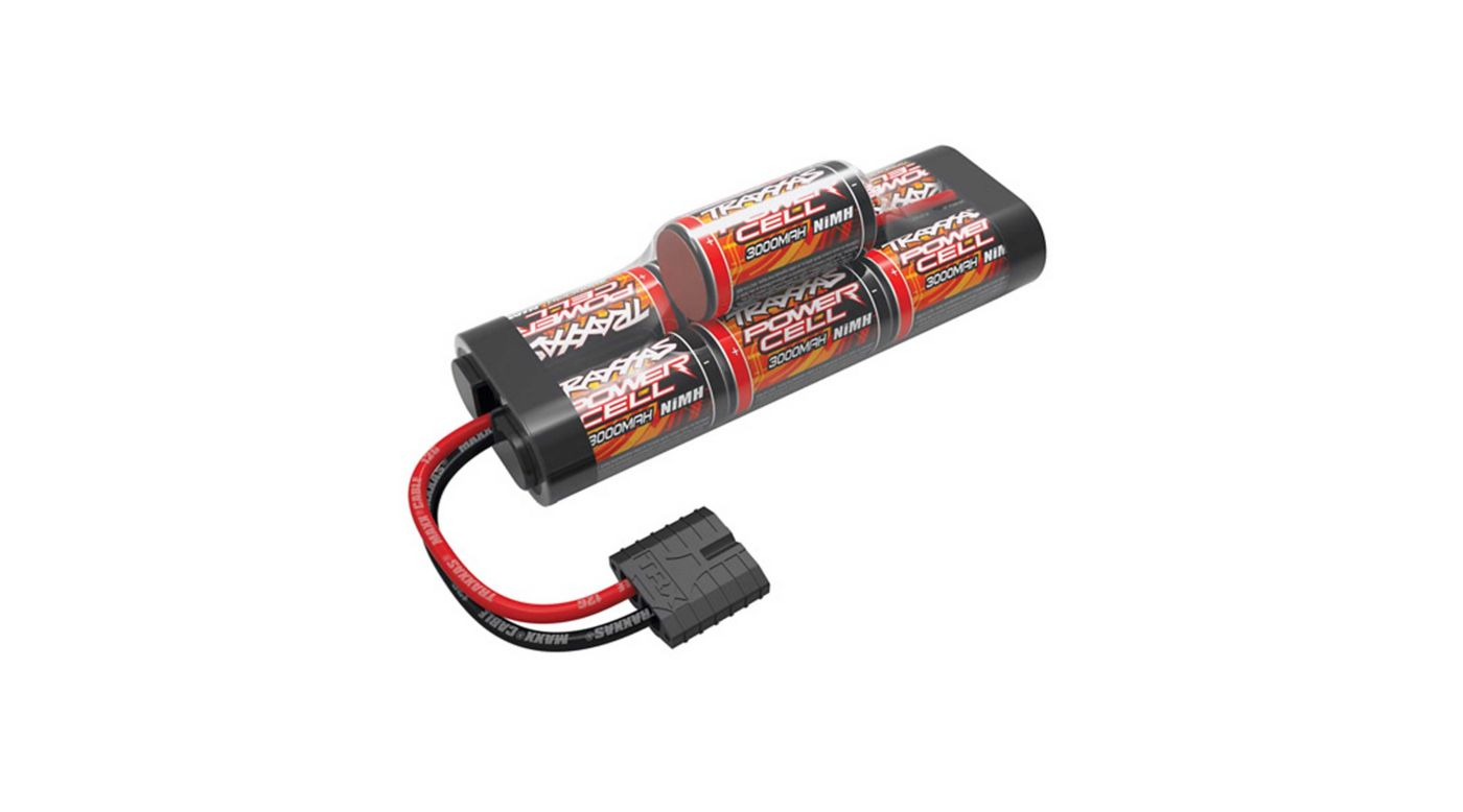Image for 8.4V 3000mAh 7-Cell Hump NiMH Battery with TRA ID from HorizonHobby