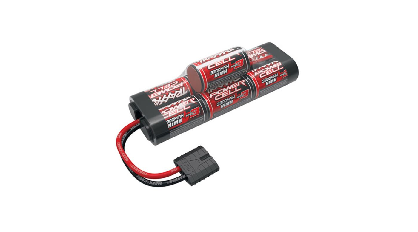 Image for 8.4V 3300mAh 7-Cell Hump NiMH Battery with TRA ID from HorizonHobby