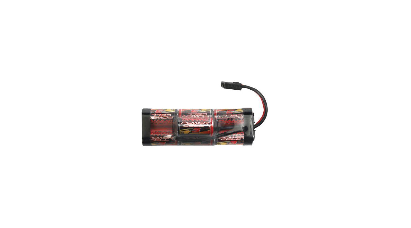 Image for 7-Cell 8.4V Hump 3300mAh NiMH Battery w/ TRA Conn from HorizonHobby