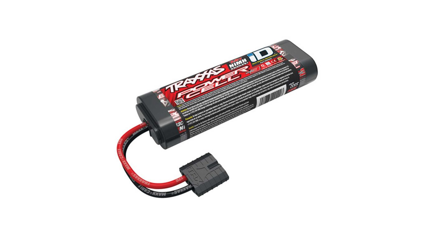 Image for 7.2V 3300mAh 6-Cell Stick NiMH Battery with TRA ID from HorizonHobby