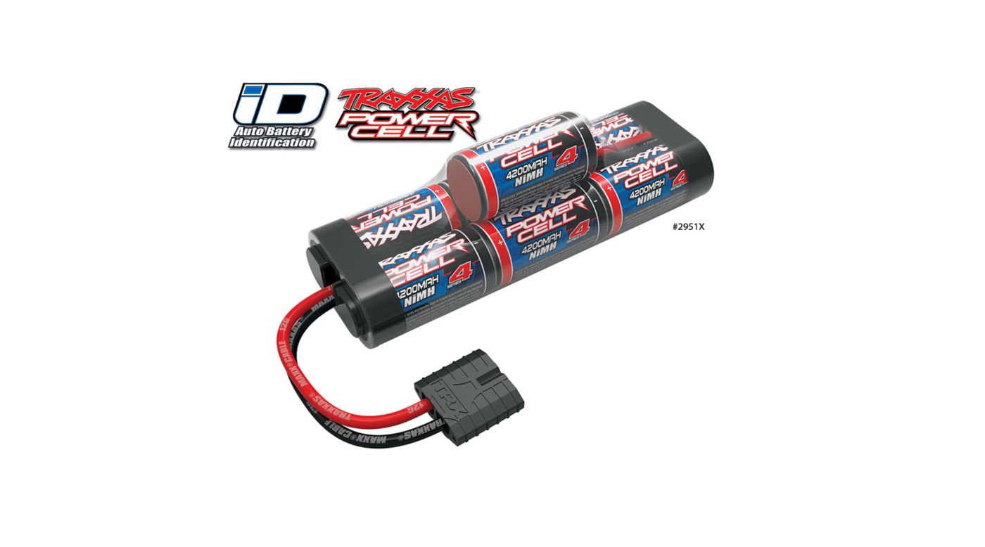 Image for 8.4V 4200mAh 7-Cell Hump NiMH Battery with TRA ID from HorizonHobby