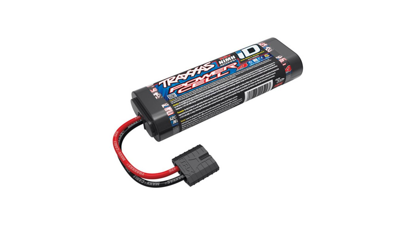 Image for 7.2V 4200mAh 6-Cell Flat NiMH Battery with TRA ID from HorizonHobby