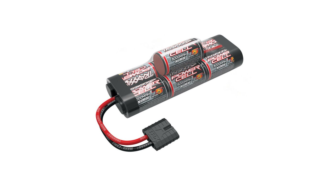 Image for 8.4V 5000mAh 7-Cell Hump NiMH Battery with TRA ID from HorizonHobby