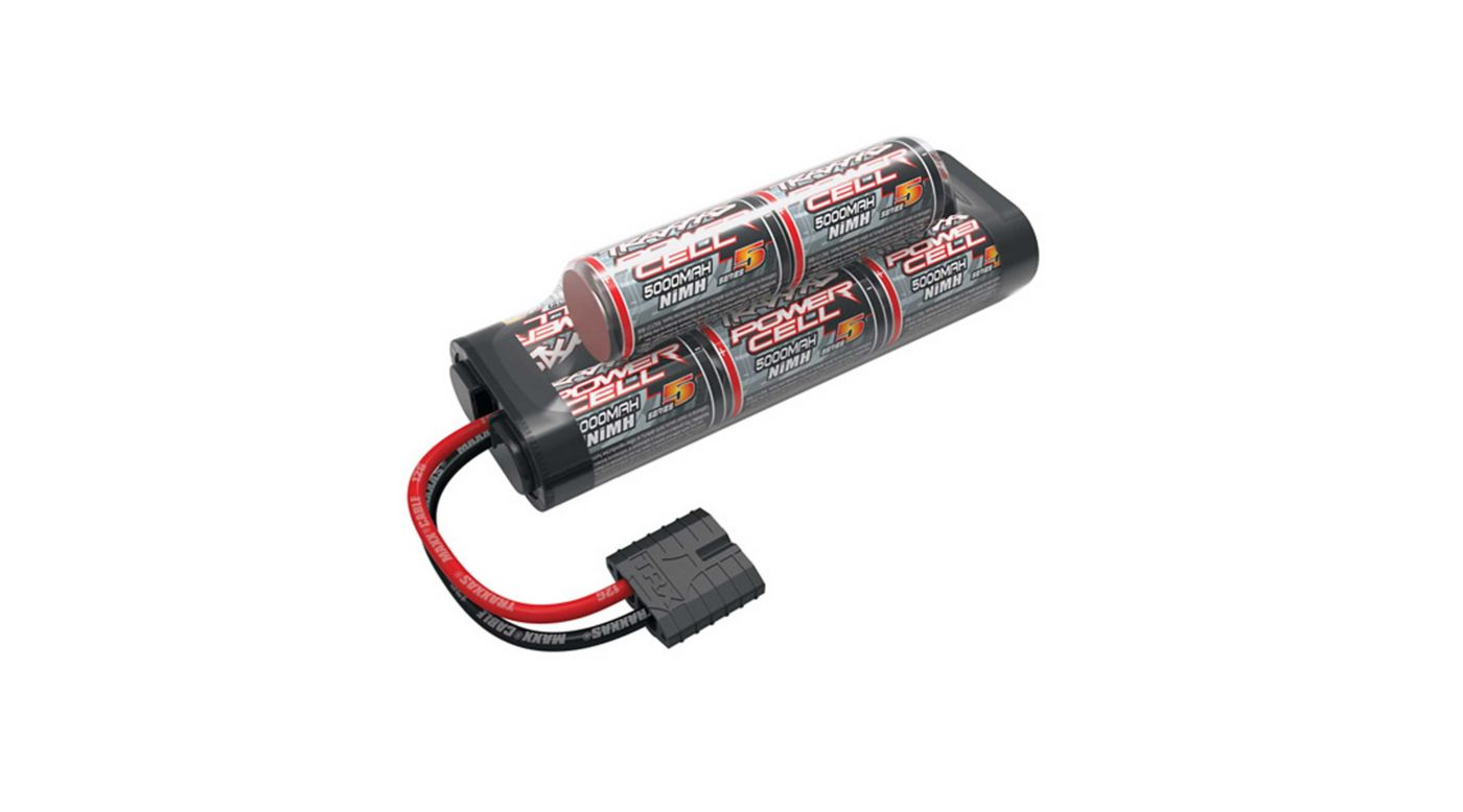 Image for 9.6V 5000mAh 8-Cell Hump NiMH Battery with TRA ID from HorizonHobby