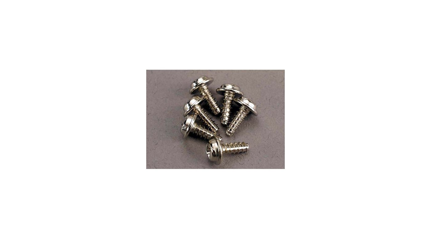 Image for Screws 3x8mm Washerhead (6) from HorizonHobby