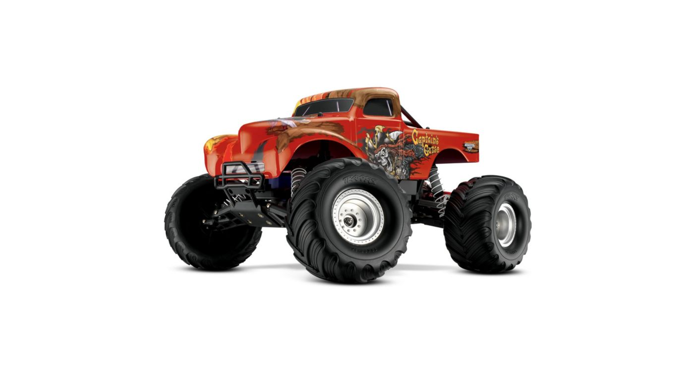 Image for Captain's Curse 2WD Monster Truck RTR with AM Radio from HorizonHobby