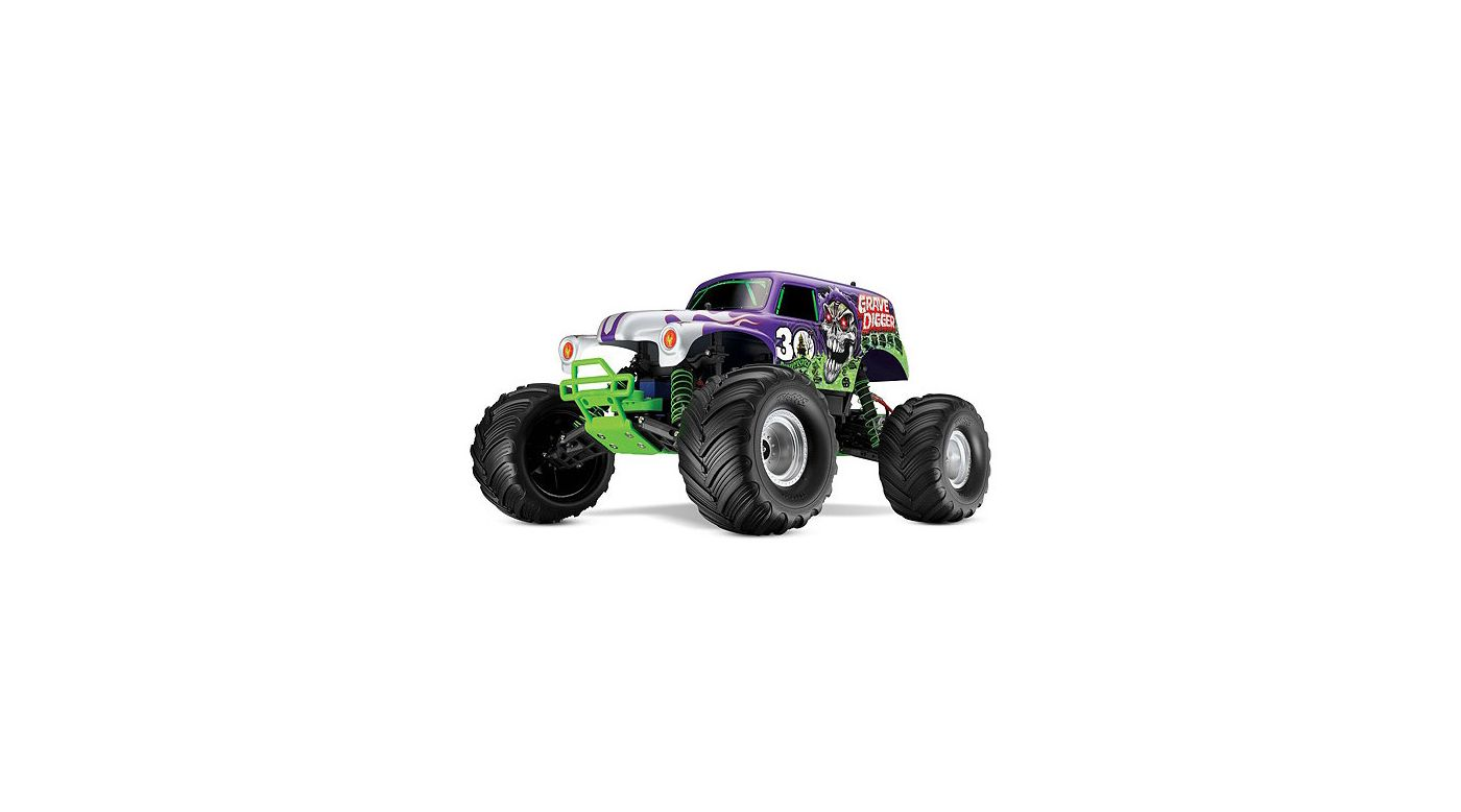 Image for 30th Anniversary Grave Digger w/Lights & TQi Radio from HorizonHobby