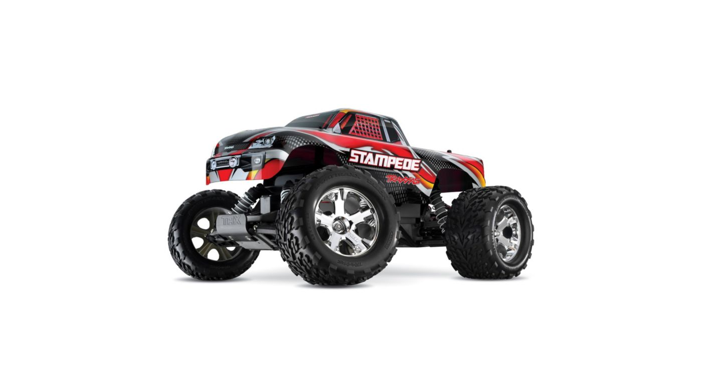 Image for 1/10 Stampede XL-5 2WD Monster Truck Brushed RTR, Red from Horizon Hobby