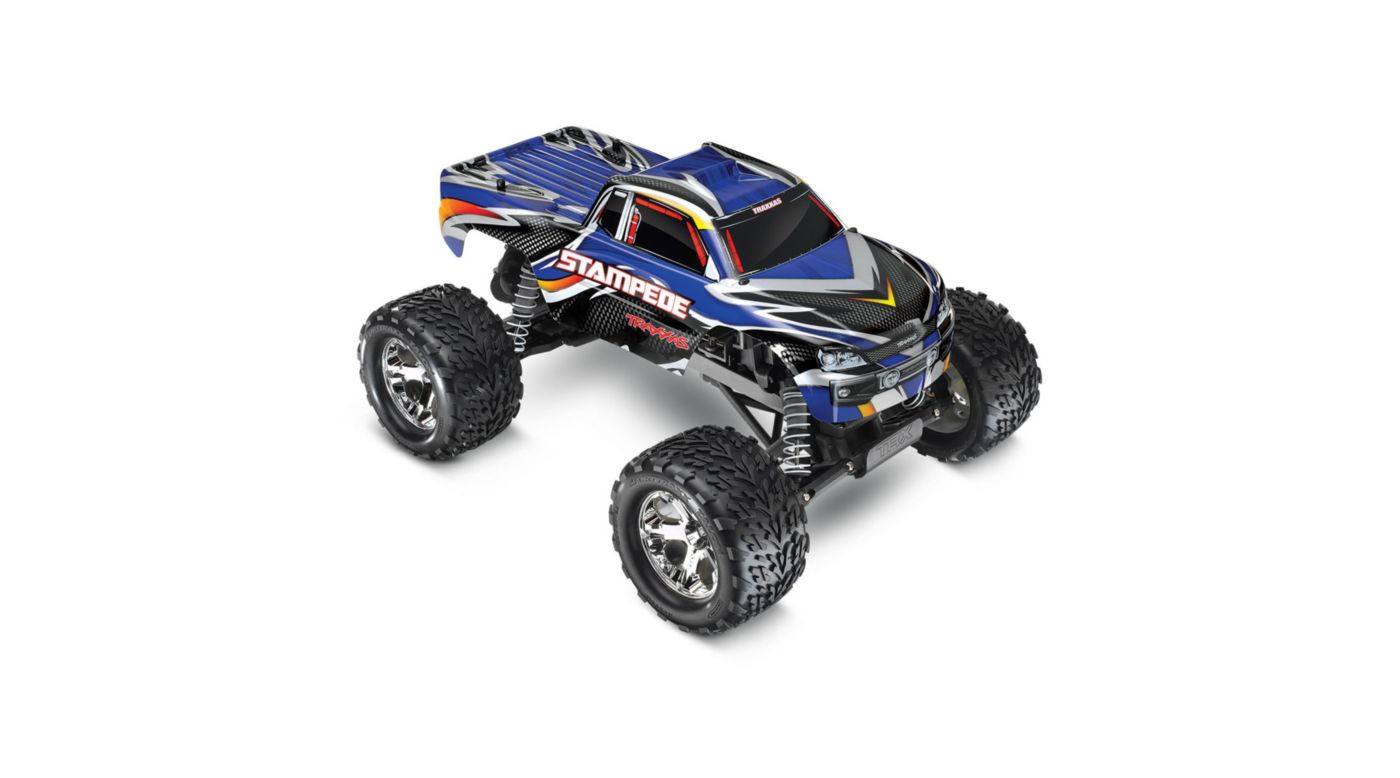 Image for 1/10 Stampede XL-5 2WD Monster Truck Brushed RTR, Blue from HorizonHobby