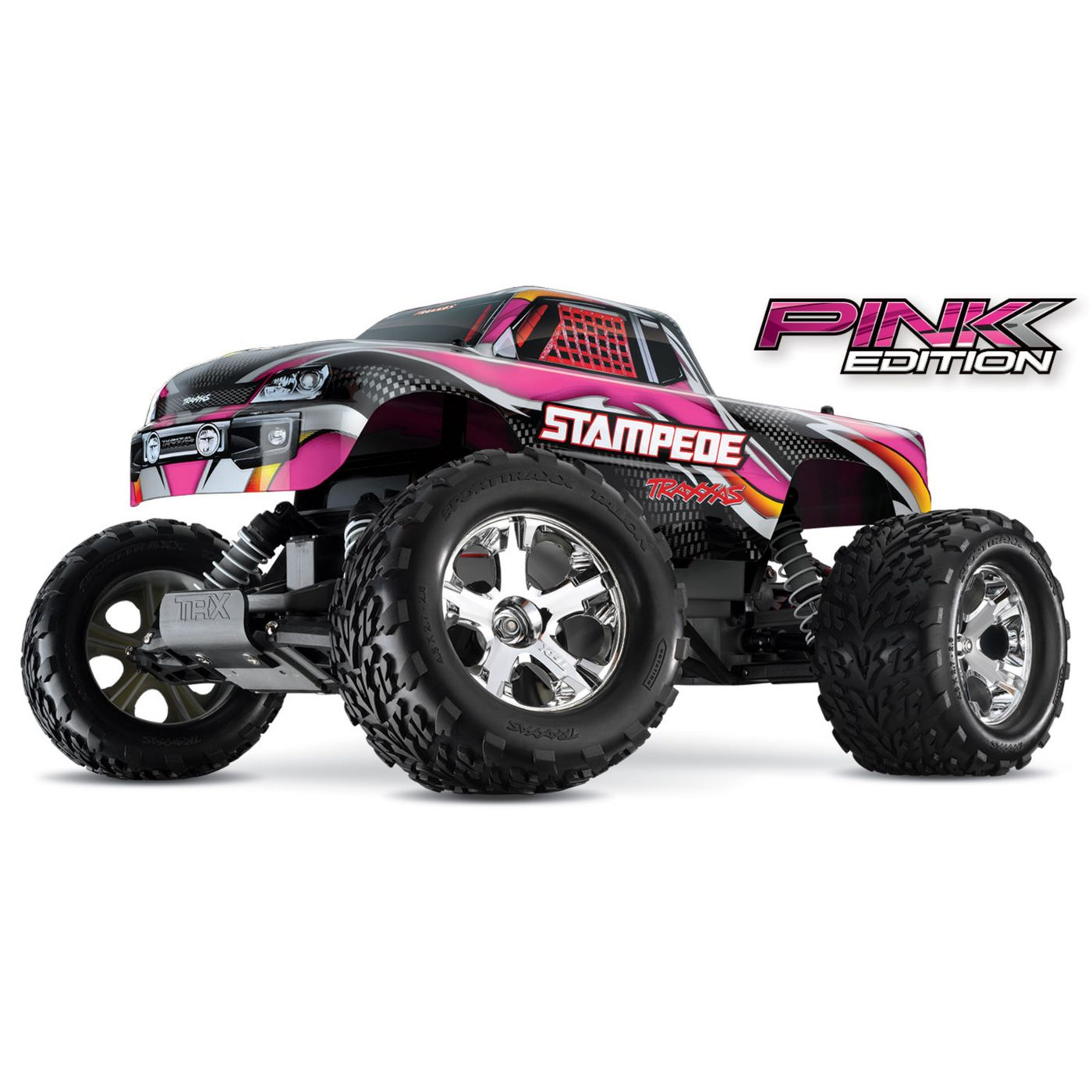 1/10 Stampede XL-5 2WD Monster Truck Brushed RTR, Pink Edition