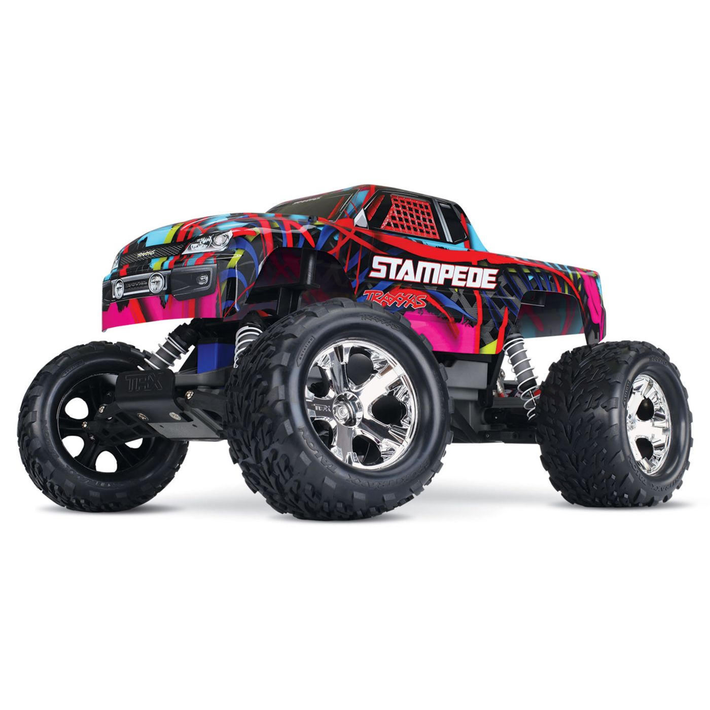 1 10 stampede xl 5 2wd monster truck brushed rtr hawaiian edition rh horizonhobby com traxxas stampede xl5 manual Traxxas Stampede Upgrades