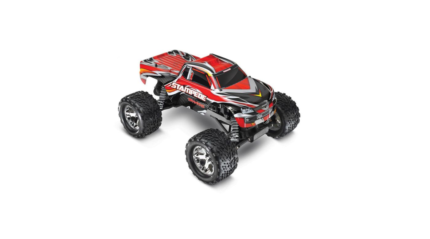 Image for 1/10 Stampede Monster Truck RTR with 2.4GHz, Red from HorizonHobby