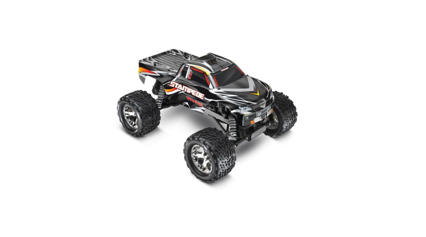 Image for 1/10 Stampede Monster Truck RTR with 2.4GHz, Black from HorizonHobby