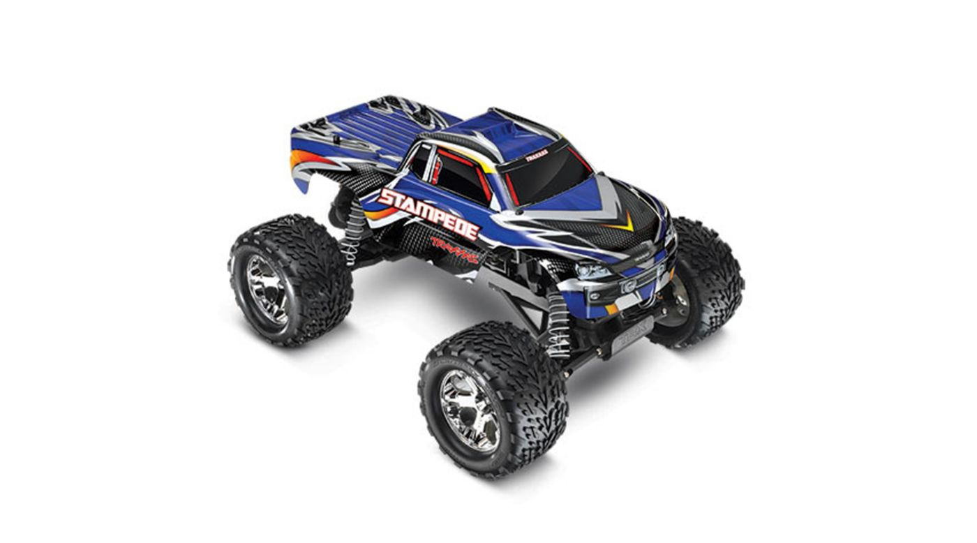 Image for Stampede Monster Truck RTR w/XL-5 w/Battery&Charger, Blue from HorizonHobby