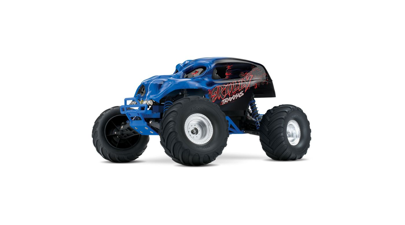 Image for 1/10 Skully 2WD Monster Truck Brushed RTR, Blue from HorizonHobby