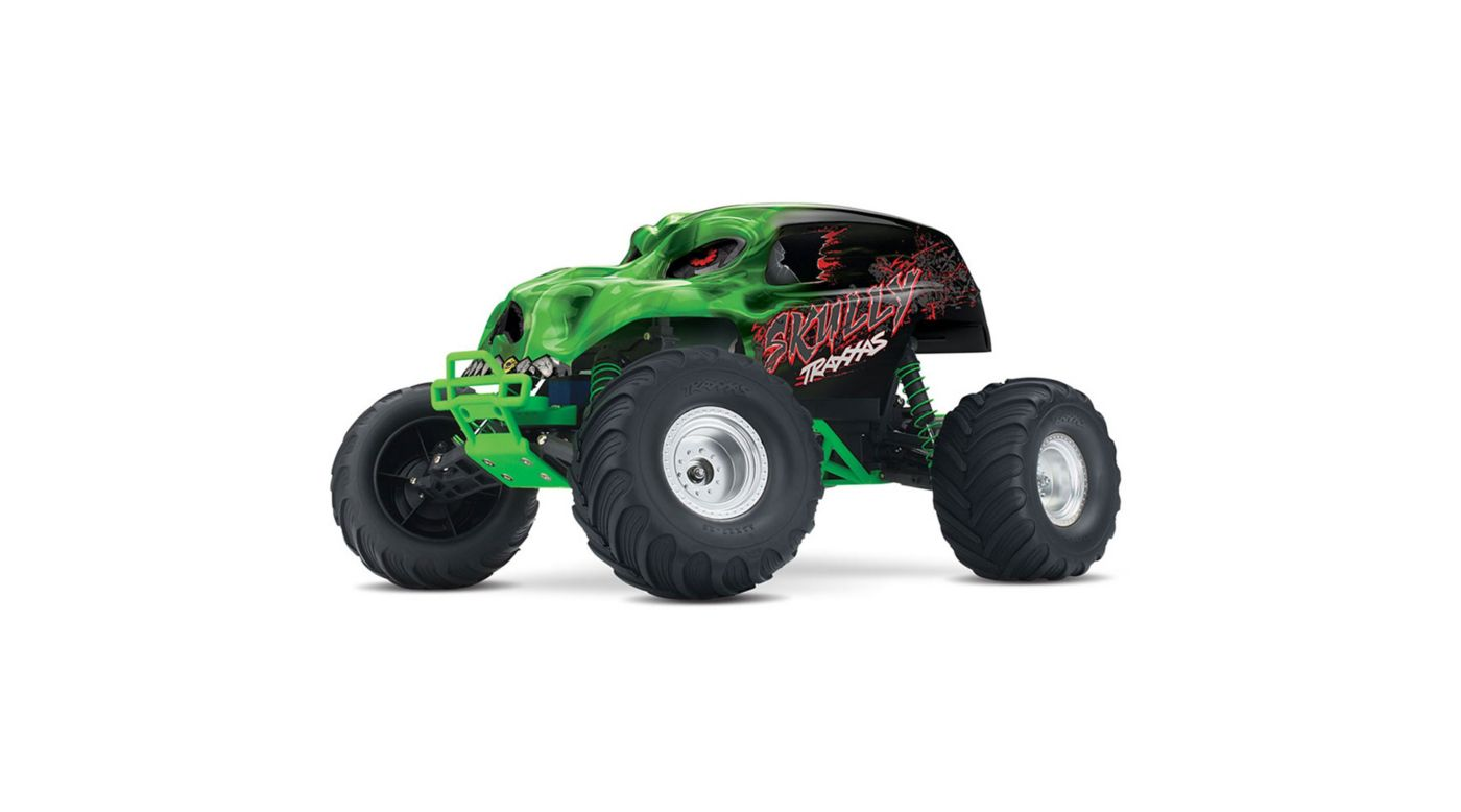 Image for 1/10 Skully 2WD Monster Truck Brushed RTR, Green from HorizonHobby