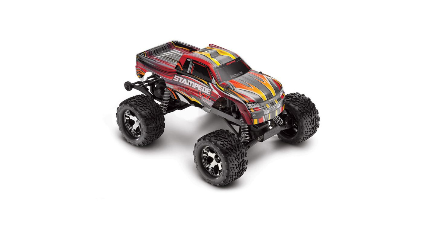 Image for 1/10 Stampede VXL 2WD Brushless RTR with TSM, Red from HorizonHobby