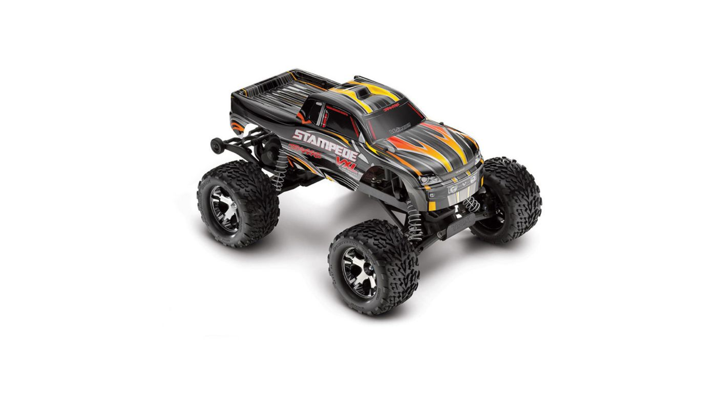 Image For 1 10 Stampede VXL 2WD Brushless RTR With TSM Black From Horizon