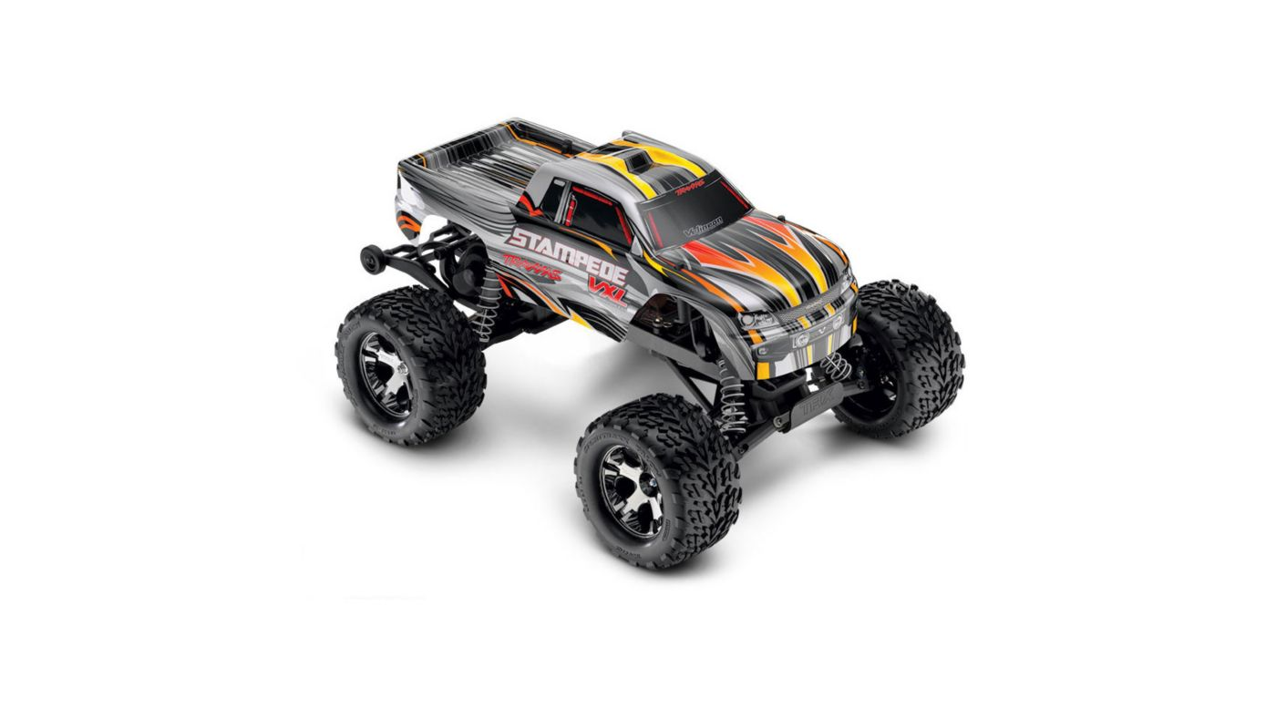 Image for 1/10 Stampede VXL 2WD Brushless RTR with TSM, Silver from HorizonHobby