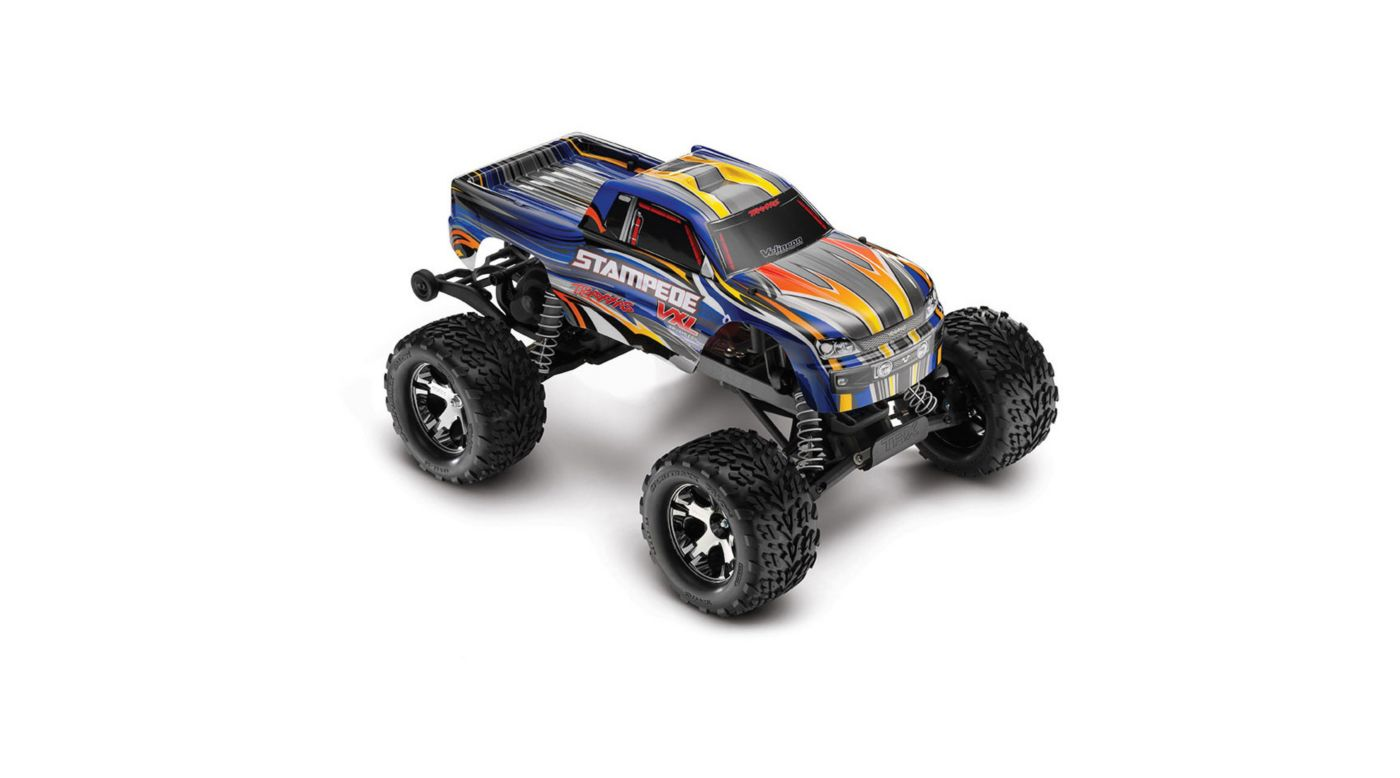 Image for 1/10 Stampede VXL 2WD Brushless RTR with TSM, Blue from HorizonHobby