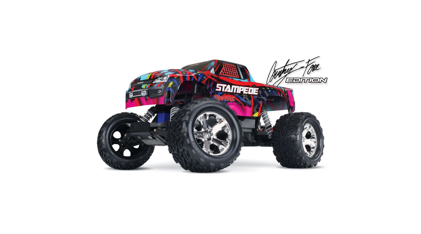 Image for 1/10 Stampede VXL 2WD Brushless RTR with TSM, Hawaiian Edition from HorizonHobby