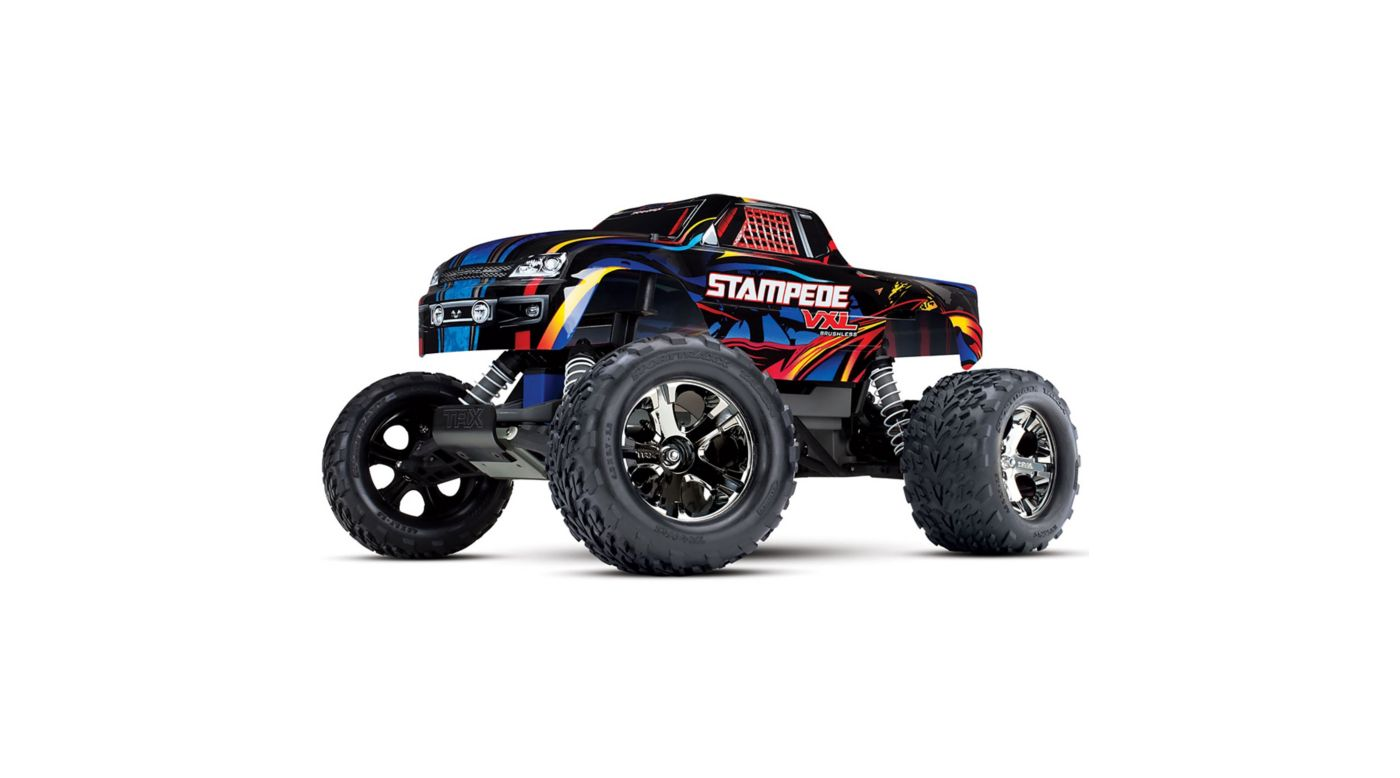 Image for 1/10 Stampede VXL 2WD Brushless RTR with TSM, Rock and Roll from Horizon Hobby