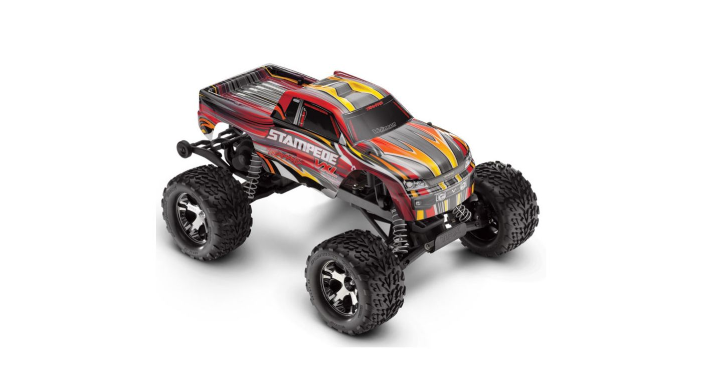 Image for 1/10 Stampede VXL RTR with 2.4GHz Radio, Red from HorizonHobby