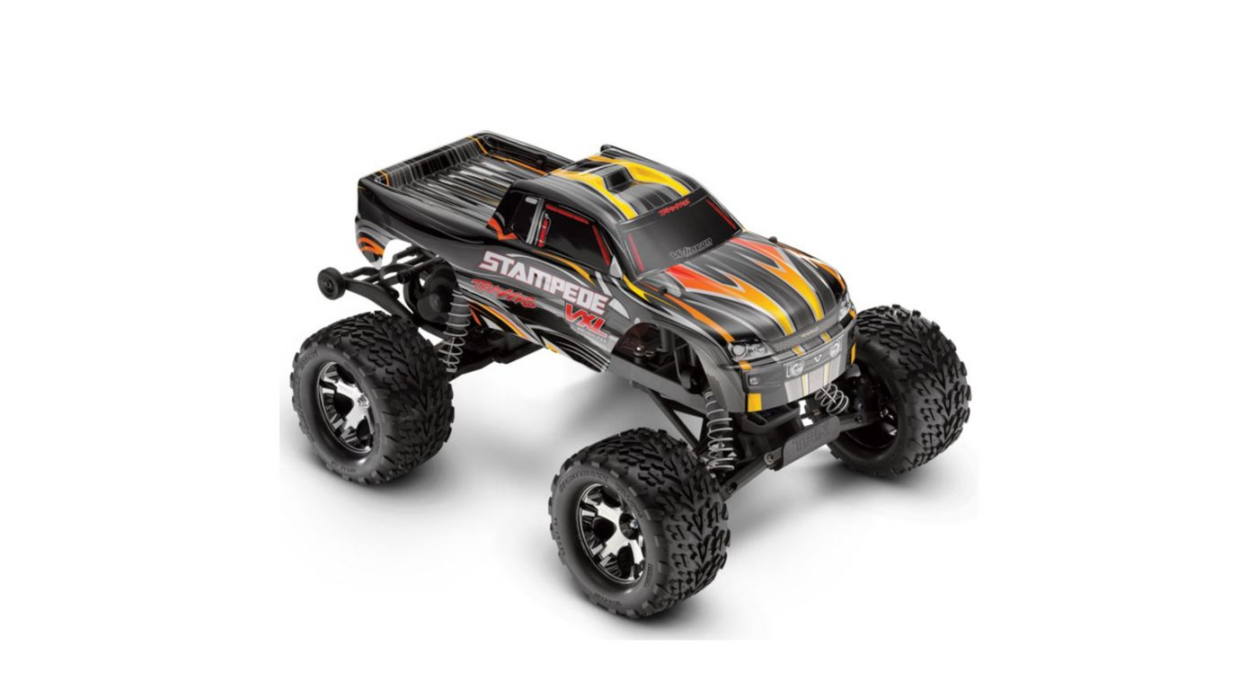 Image for 1/10 Stampede VXL RTR with 2.4GHz Radio, Black from HorizonHobby