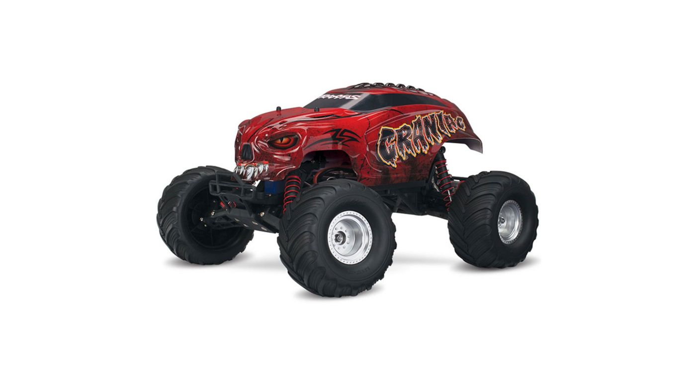 Image for 1/10 Craniac 2WD Monster Truck Brushed RTR, Red from HorizonHobby