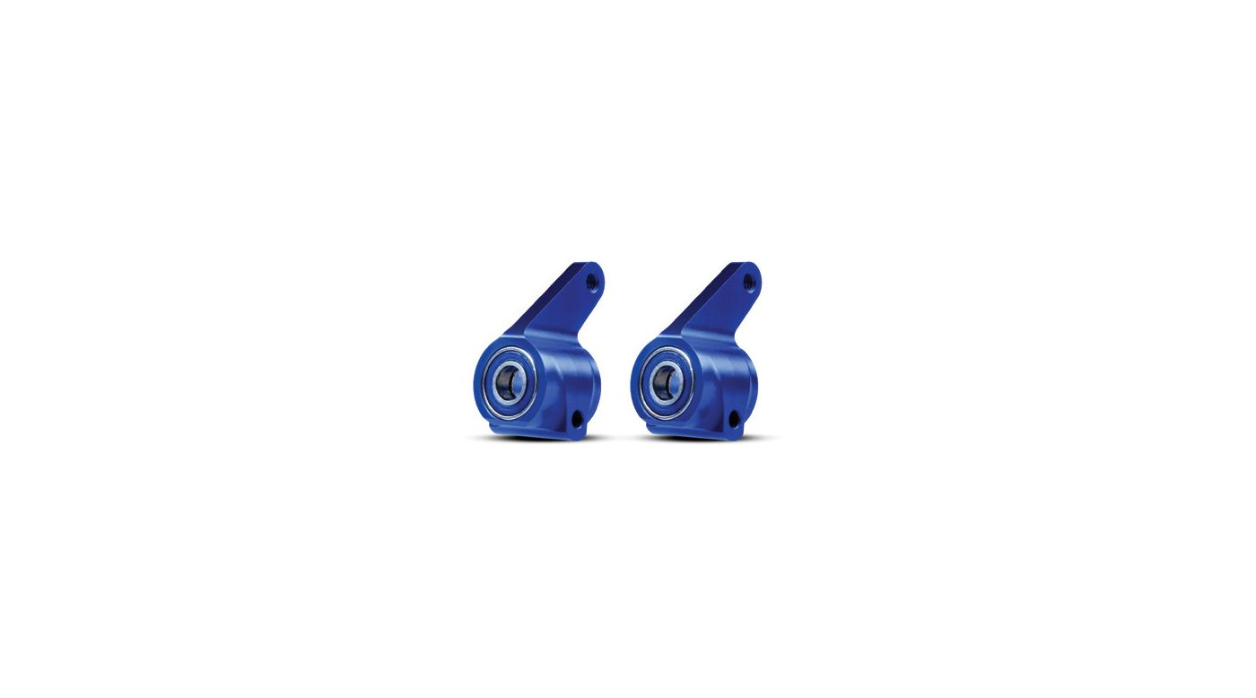 Image for Alum Steering Blocks (2), Bl w/ Ball Bearings RU, ST, B from HorizonHobby