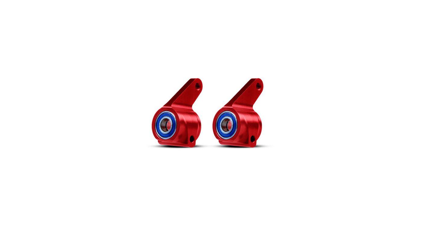 Image for AlumSteeringBlocks(2),Redw/BallBearings RU, ST, BA from HorizonHobby