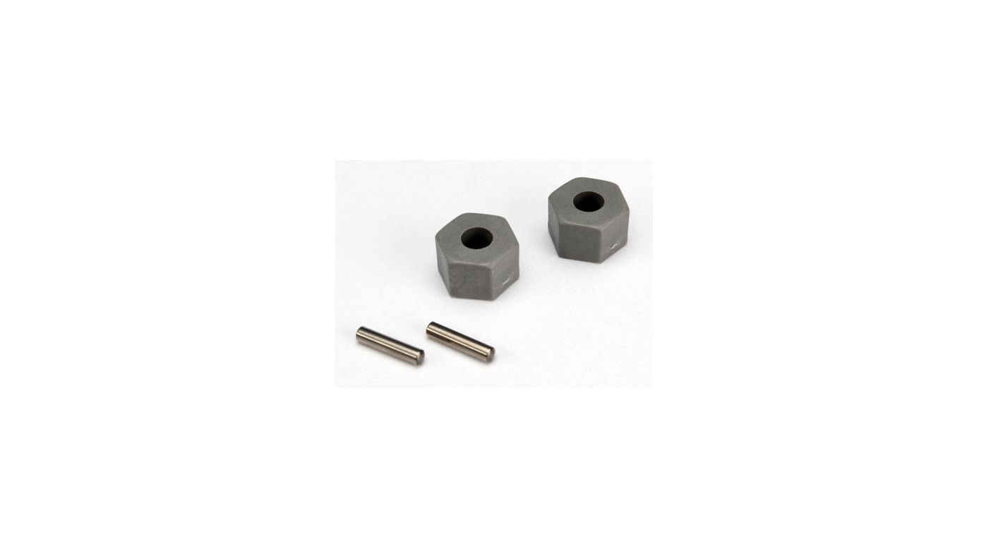 Image for Fr Wheel Hubs,Hex,Axel Pins(2) :RU,ST,SLH from HorizonHobby