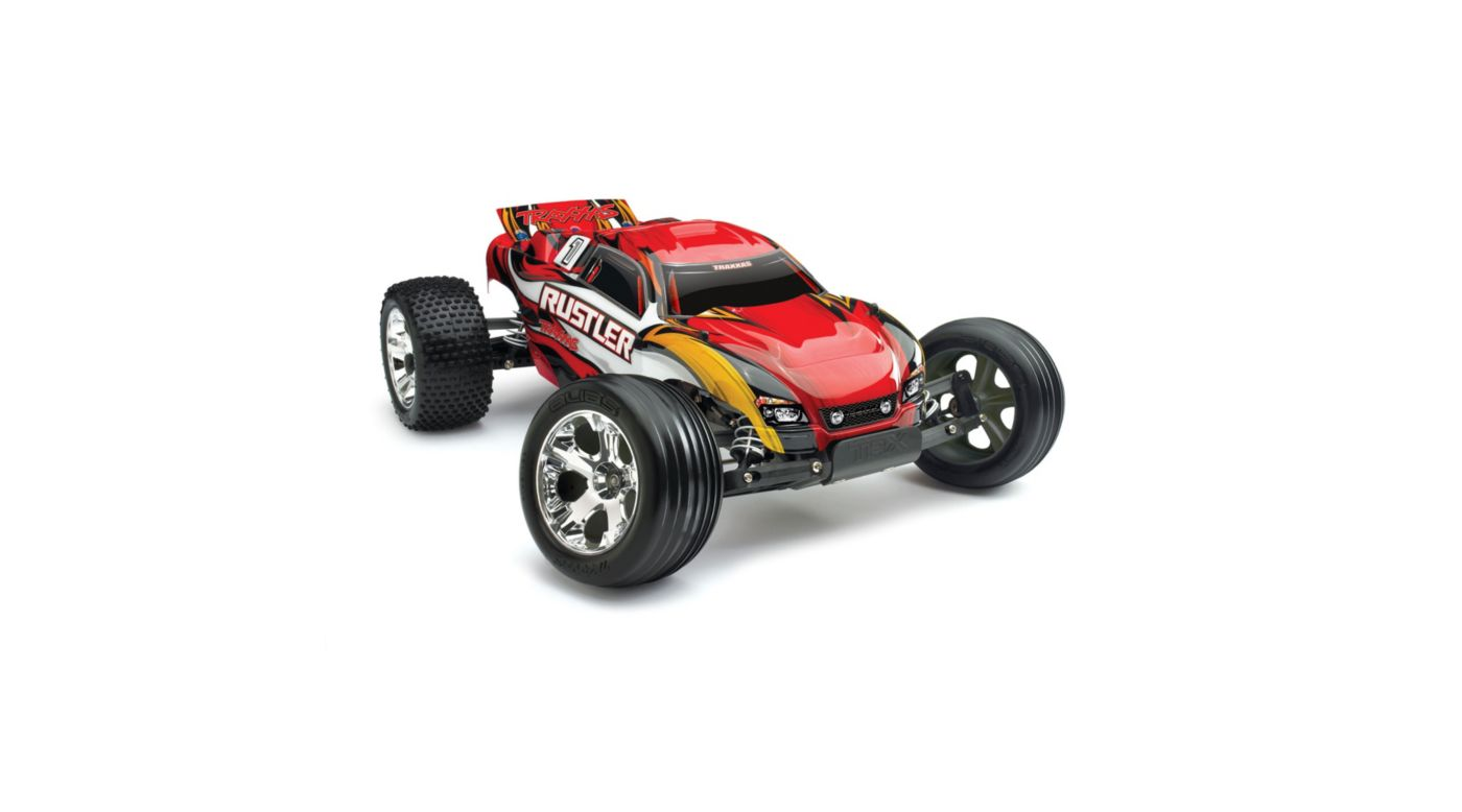 Image for 1/10 Rustler XL-5 2WD Stadium Truck Brushed RTR, Red from HorizonHobby