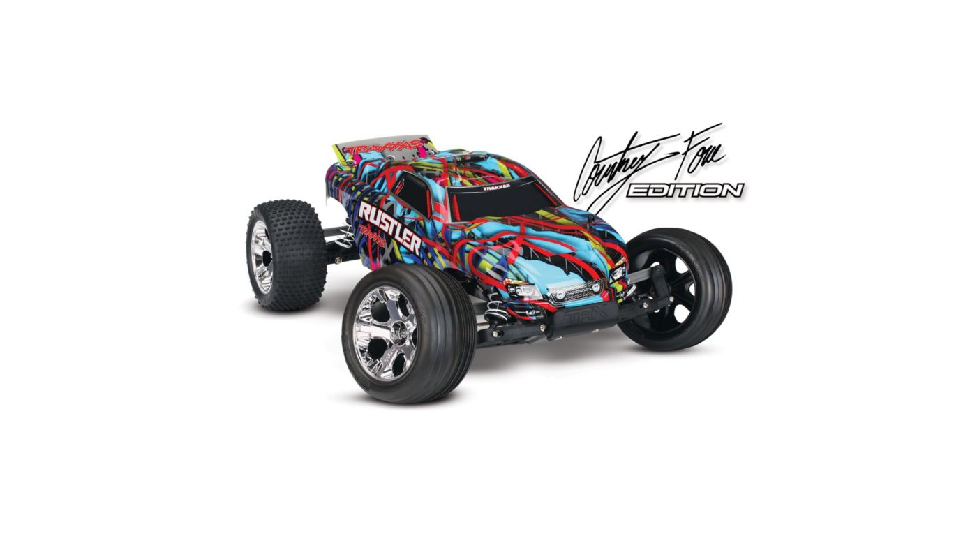Image for 1/10 Rustler XL-5 2WD Stadium Truck Brushed RTR, Hawaiian Edition from HorizonHobby