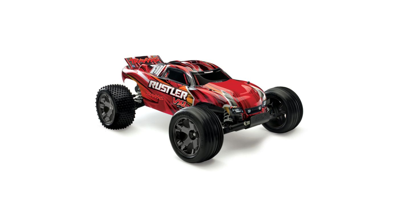 Image for 1/10 Rustler VXL RTR TQi, without Module, Red from HorizonHobby