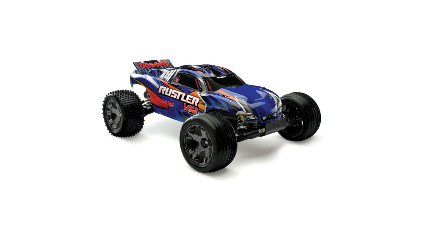 Image for 1/10 Rustler VXL RTR TQi, without Module, Blue from HorizonHobby