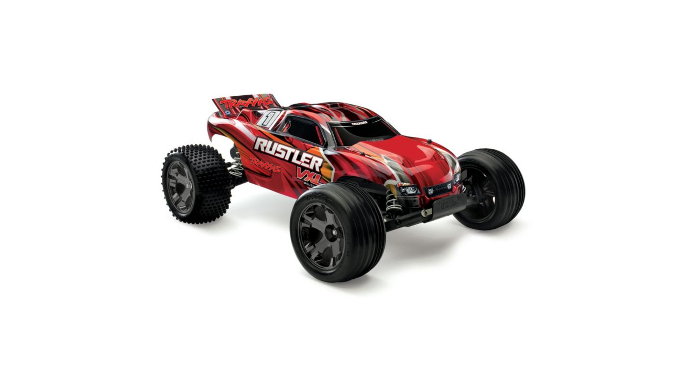Image for 1/10 Rustler VXL 2WD Brushless RTR with TSM, Red from Horizon Hobby