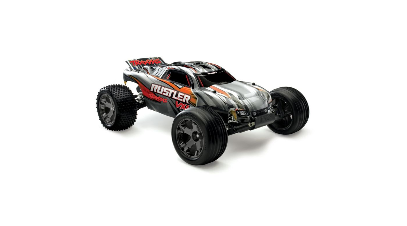 Image for 1/10 Rustler VXL 2WD Brushless RTR with TSM, Silver from HorizonHobby