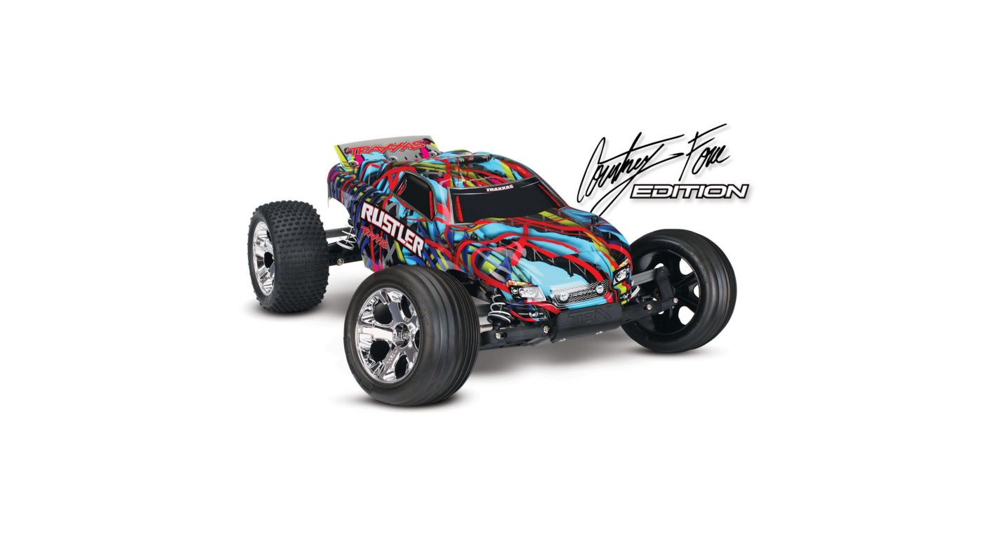 Image for 1/10 Rustler VXL 2WD Brushless RTR with TSM, Hawaiian Edition from HorizonHobby