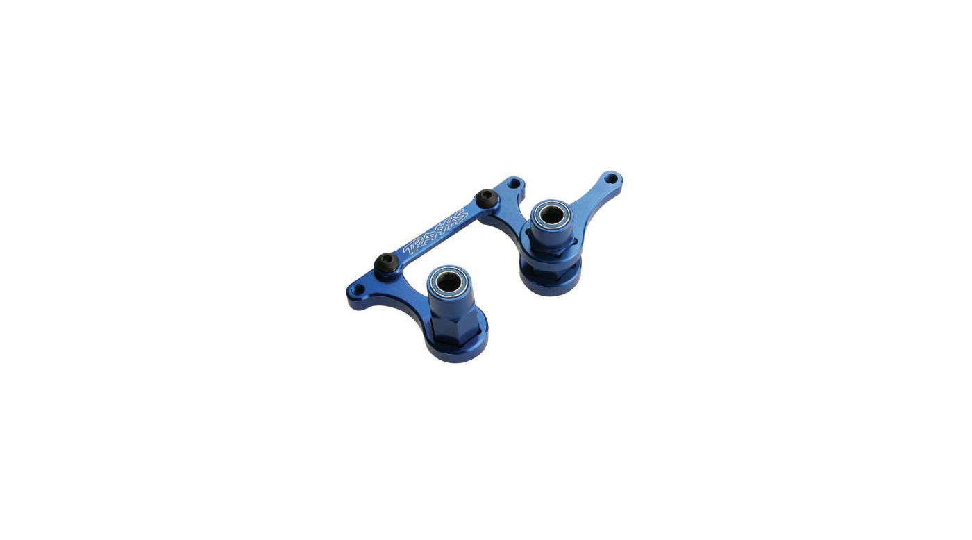 Image for Aluminum Ball Bearing Steering Bellcranks, Blue: RU, BA, SLH from HorizonHobby