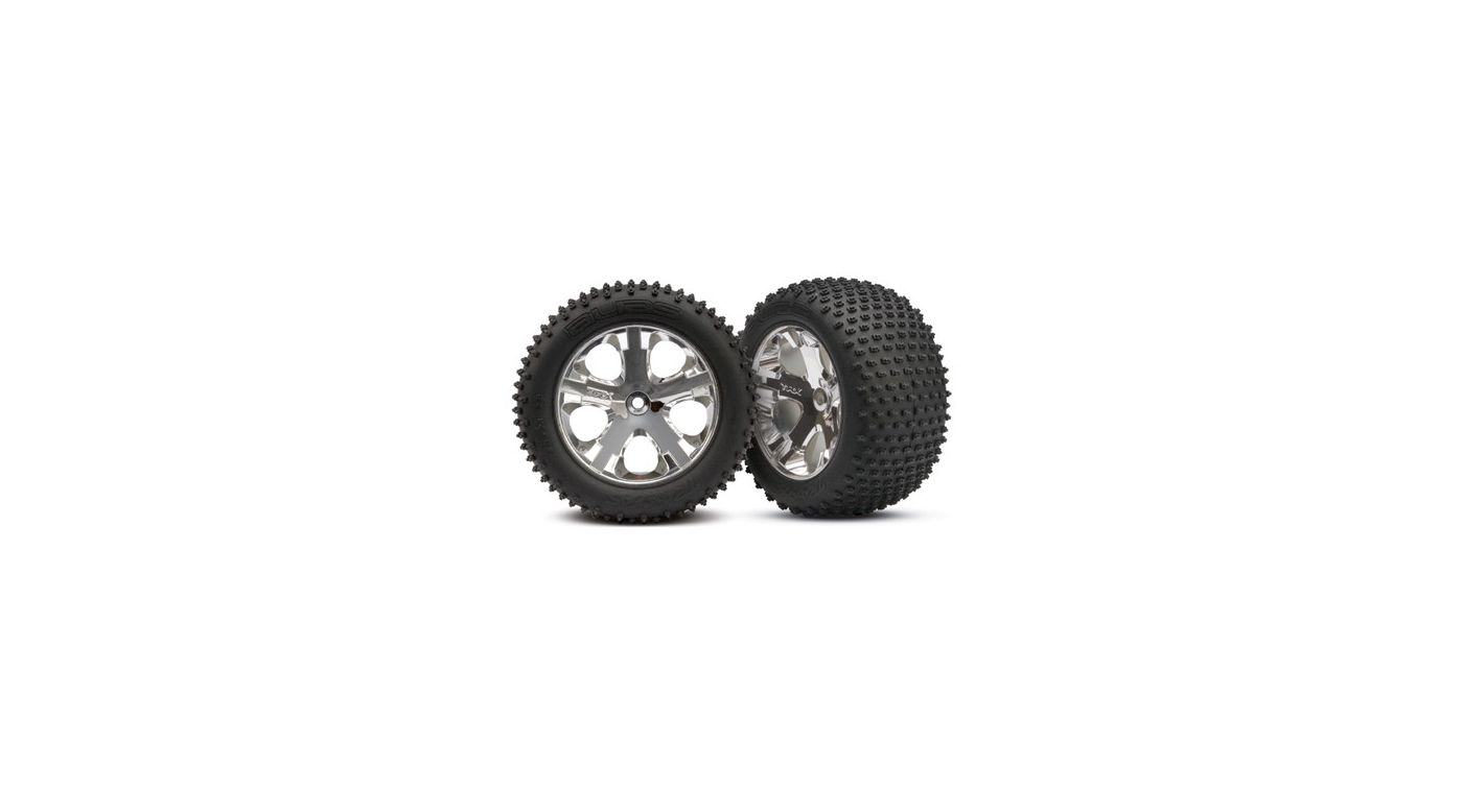 Image for Chrome Wheel, Rear with Alias Tire (2): RU from HorizonHobby